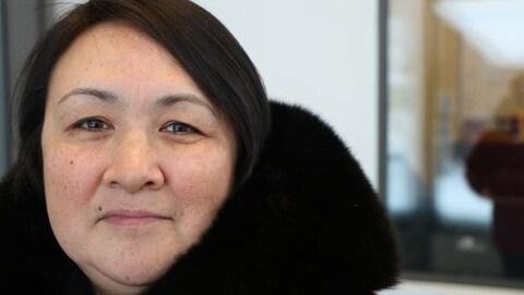 Phoebe Atagotaaluk, coordinatrice du comité de la justice à Inukjuak