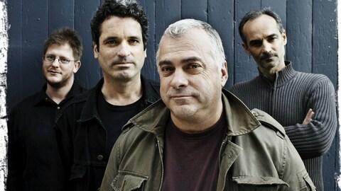 Les membres du Auguste Quartet du contrebassiste Alain Bédard