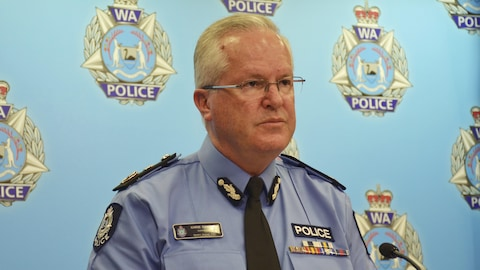 Le commissaire de la police de l'État d'Australie-Occidentale, Chris Dawson.