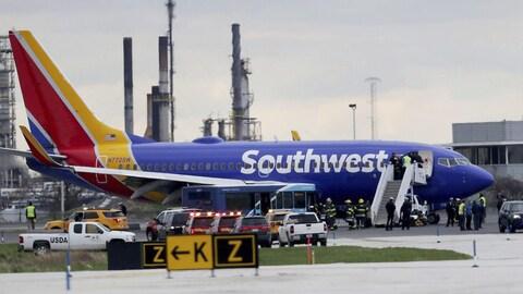 Un avion de Southwest Airlines s'est posé d'urgence à Philadelphie.
