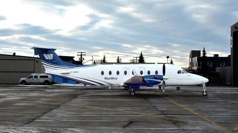 Un avion de WestWind Aviation.