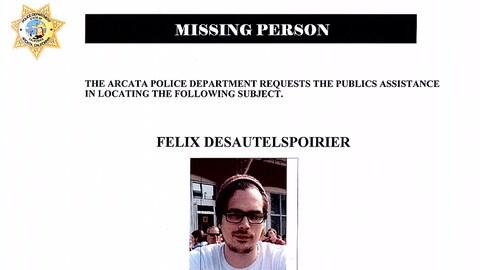 Un avis de recherche a été émis pour retrouver Félix Desautels-Poirier.