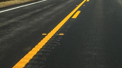 Des bandes rugueuses seront installées sur la route 138 à hauteur de Ste-Tite-des-Caps.