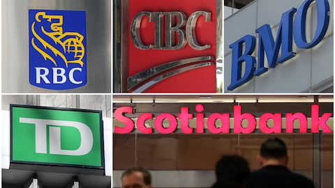 Cinq banques canadiennes auraient encourager des clients à hausser leur limite de carte de crédit de façon irréaliste.