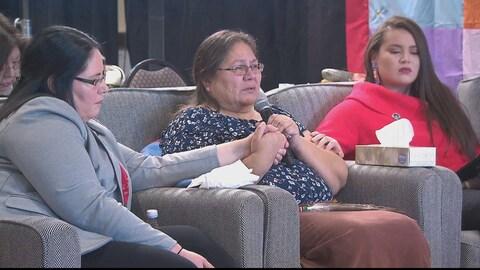 Barbara Bernard raconte l'histoire de sa mère Mary Francis Paul, dont le corps a été retrouvé en 1977 sur un rivage à Charlottetown.
