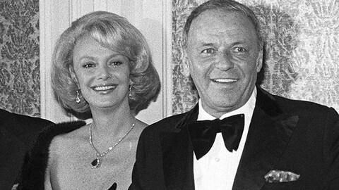 Barbara et Frank Sinatra en 1976