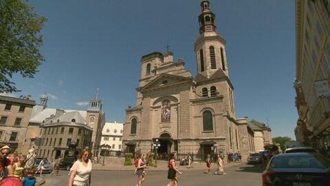 La basilique-cathédrale Notre-Dame-de-Québec