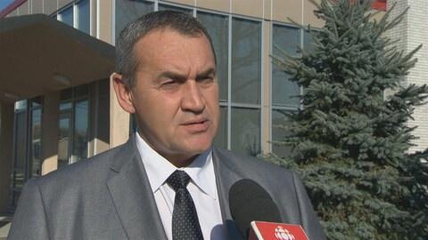 Benoit Lauzon en entrevue à Radio-Canada