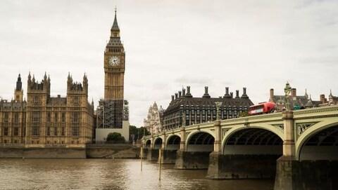 Big Ben et le parlement britannique à Londres