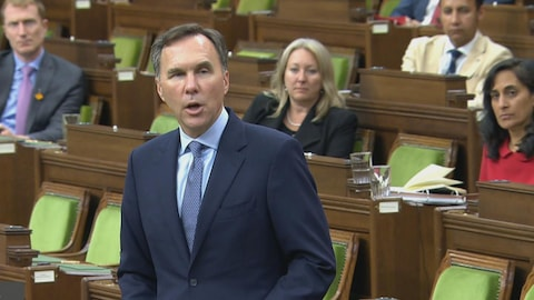 Le ministre des Finances du Canada Bill Morneau.