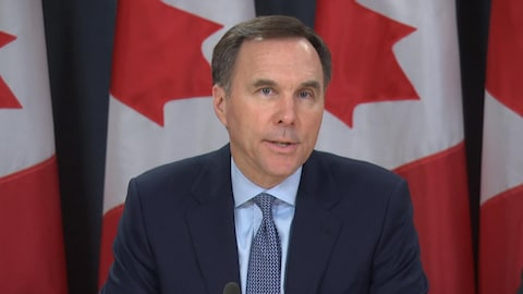 Le ministre fédéral des Finances, Bill Morneau.
