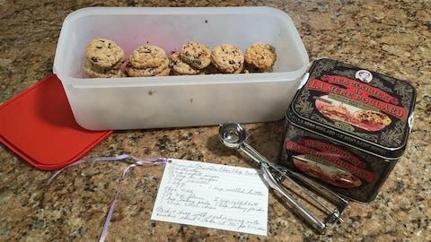 Les biscuits aux pépites de chocolat de Jeannine Robert