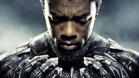Chadwick Boseman dans son rôle de Black Panther.