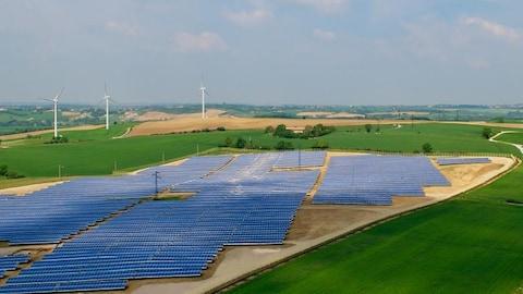 Le parc solaire Avignonet-Lauragais est le premier parc solaire mis en service par Boralex sur le territoire français.
