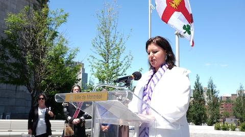 Marie-Ève Bordeleau, commissaire aux Affaires autochtones de Montréal