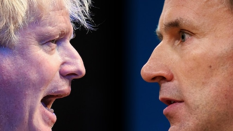 Boris Johnson et Jeremy Hunt