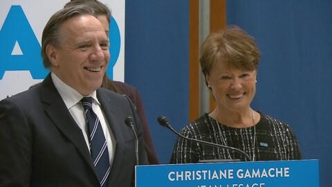 La CAQ présente sa nouvelle candidate dans Jean-Lesage.