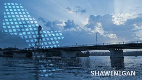 Le pont à Shawinigan