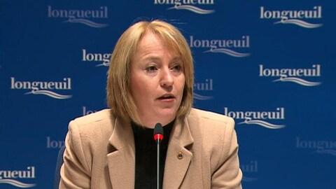 La mairesse de Longueuil, Caroline St-Hilaire (archives)