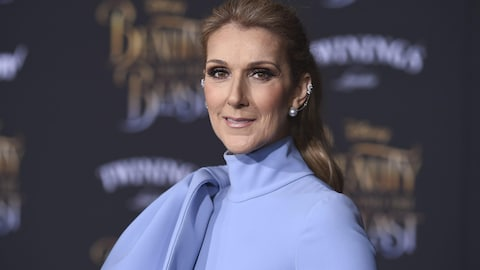 Céline Dion à Los Angeles en mars 2017