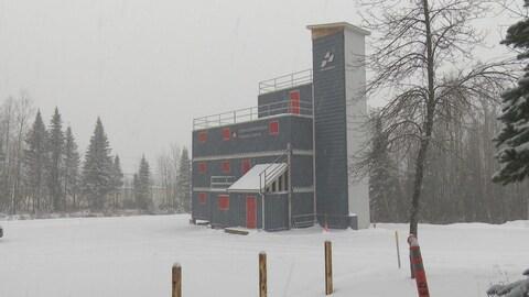 Le nouveau centre de formation pour les pompiers d'Edmundston.