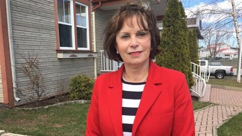 La mairesse de Chandler Louisette Langlois.