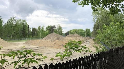 La vue de chantier dérange les résidents de l'avenue Dion.