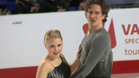 Julianne Séguin et Charlie Bilodeau espèrent se qualifier pour les Jeux olympiques