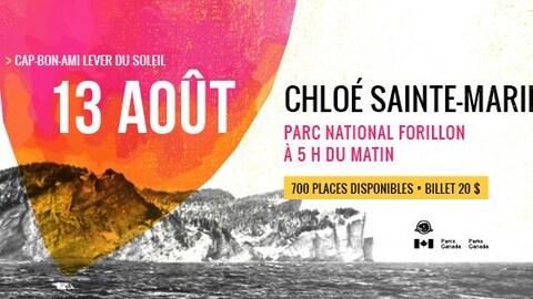 Affiche de Chloé Sainte-Marie au FMBM