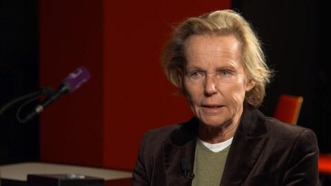 La journaliste et auteure française Christine Ockrent