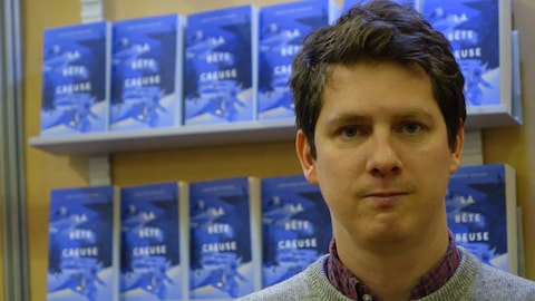 L'auteur et traducteur Christophe Bernard au Salon du livre de Rimouski