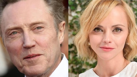 Les visages de Christopher Walken et Christina Ricci.