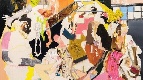 Le thème féministe est présent dans les oeuvres de Cindy Phenix.