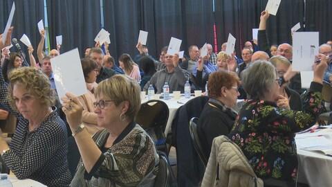 Un vote lors du congrès de l'AFMNB
