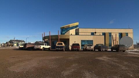 Les bureaux du conseil de bande de Matimekush-Lac John