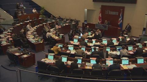 Le conseil municipal de Toronto