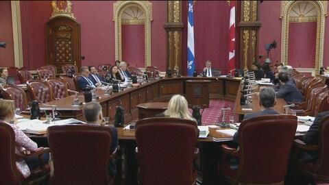 Les crédits budgétaires de la région de la Capitale-Nationale ont été étudiés jeudi après-midi à l'Assemblée nationale.
