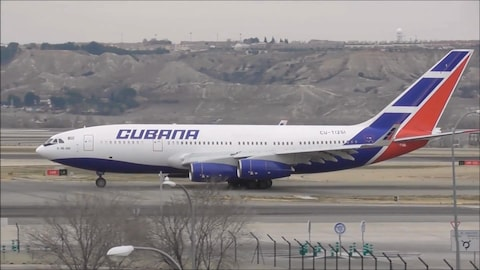 Décollage de l'avion