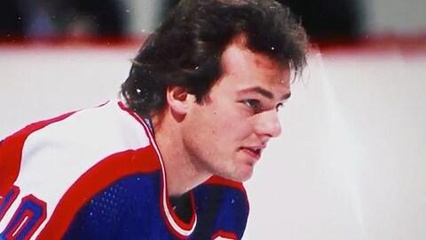 Dale Hawerchuk, joueur des Jets de Winnipeg