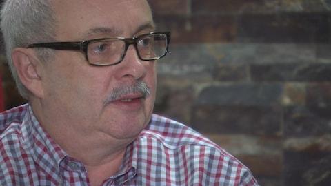 Le directeur général de la Société franco-manitobaine, Daniel Boucher