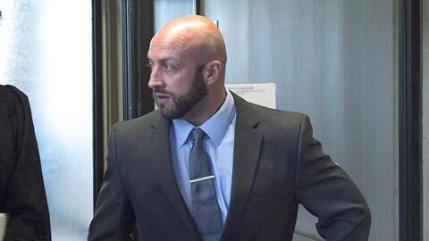 Darren Smalley le 5 septembre 2018 au tribunal à Halifax