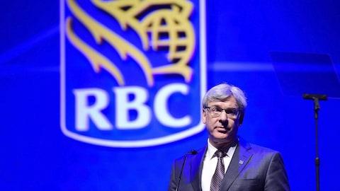 Le président et chef de la direction de la Banque Royale du Canada (RBC), Dave McKay.