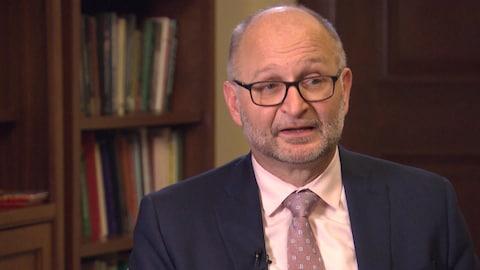 David Lametti, le ministre de la Justice.