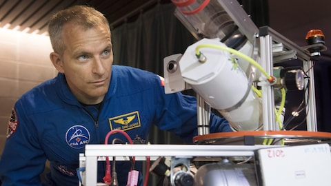 L'astronaute canadien David Saint-Jacques