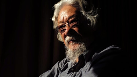 Photo de l'environnementaliste David Suzuki