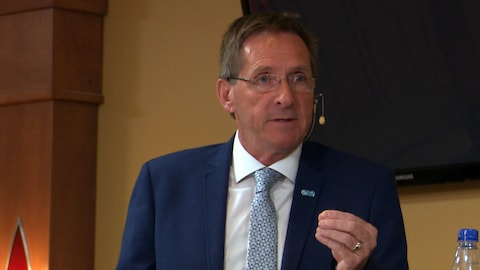 Denis Tardif, candidat de la Coalition avenir Québec.