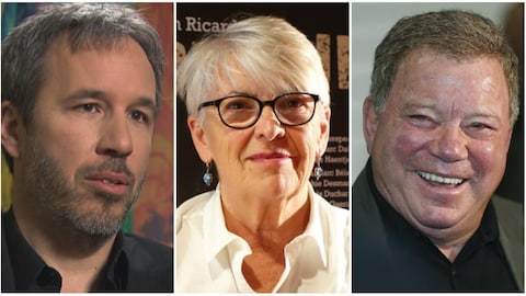 Denis Villeneuve, Brigitte Haentjens et William Shatner
