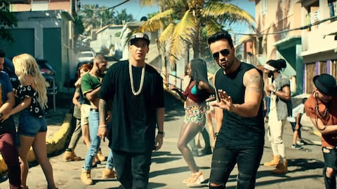 Image du vidéoclip de la chanson  Despacito , de Luis Fonsi.