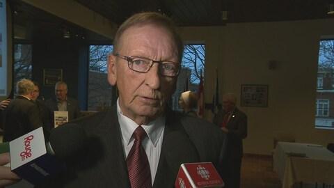 Donald Bélanger, conseiller municipal.