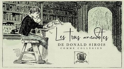 Un dessin d'un étudiant assi à une table de travail
